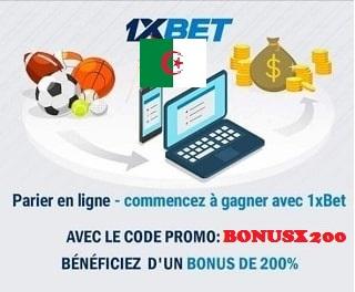 1xbet code promo algérie